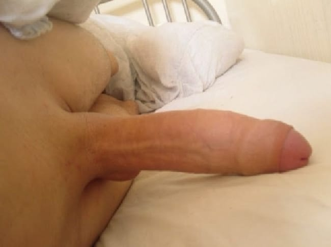 Big Cock In Bed