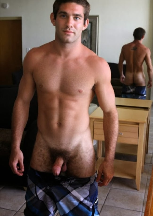 Thick Cock On Hairy Teen Stud