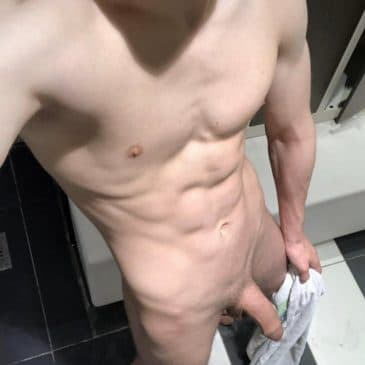 Soft uncut dick